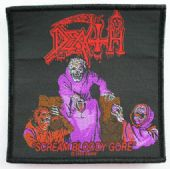 Death - 'Scream Bloody Gore' Woven Patch